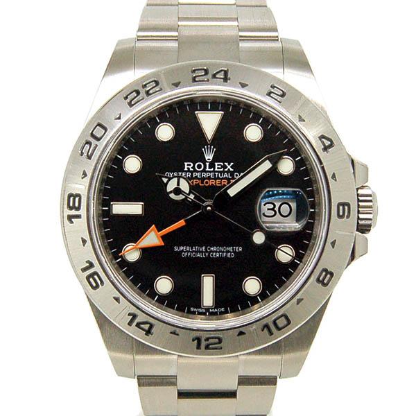 ロレックス ROLEX エクスプローラー2 216570 ブラック GMT 新品