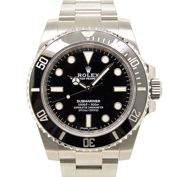 ロレックス ROLEX サブマリーナ 114060 ブラック 新品