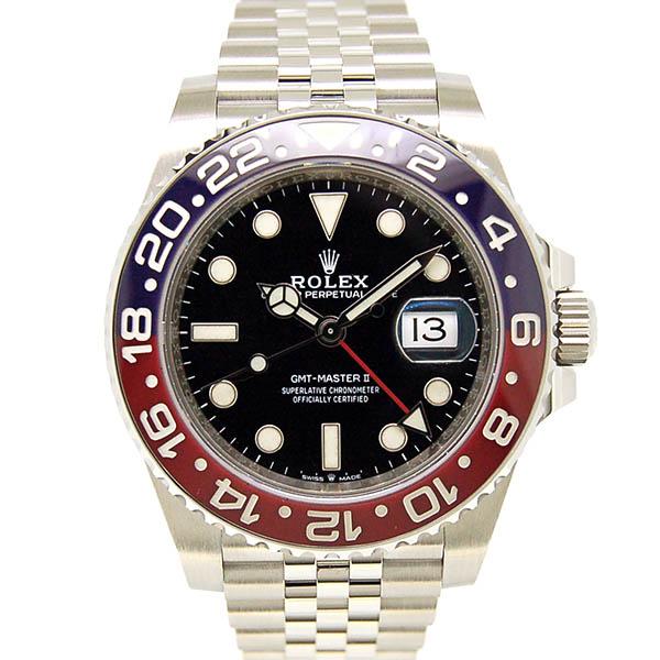 ロレックス ROLEX GMTマスター2 126710BLRO ブルー/レッドベゼル 40mm 新品