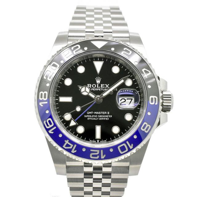 ロレックス ROLEX GMTマスター2 126710BLNR ブルー/ブラックベゼル 40mm 新品