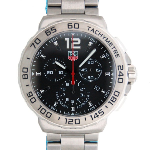 タグホイヤー TAG HEUER フォーミュラワン クロノグラフ CAU1112.BA0858 200m防水 クォーツ 新品