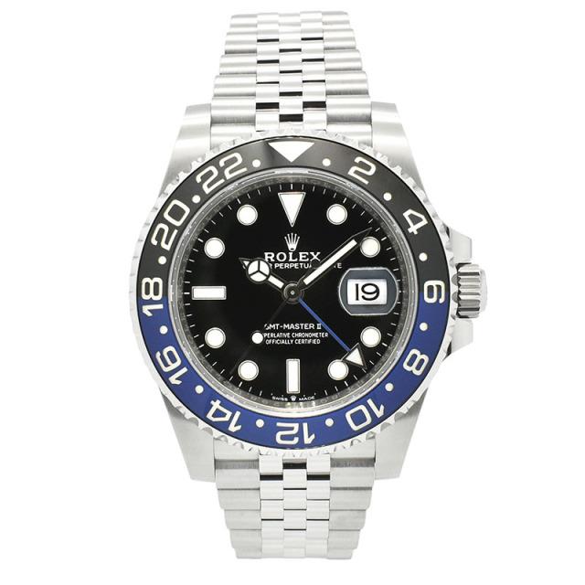 ロレックス ROLEX GMTマスター2 126710BLNR ブルー/ブラックベゼル 40mm 未使用品