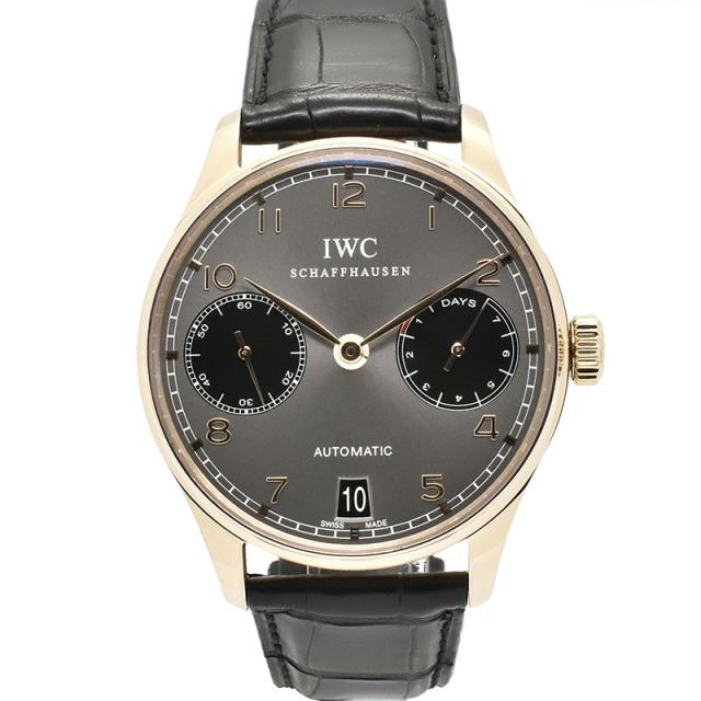 IWC ポルトギーゼ 7デイズ ドラゴンイヤー IW500125 42mm 18KRG グレー 辰年888本限定 USED 中古