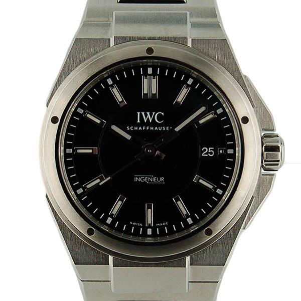 IWC インジュニア オートマティック IW323902 40mm SS ブラック SS USED 中古