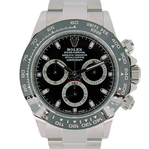 ロレックス ROLEX コスモグラフ デイトナ Ref.116500LN ブラック セラミックベゼル 未使用品