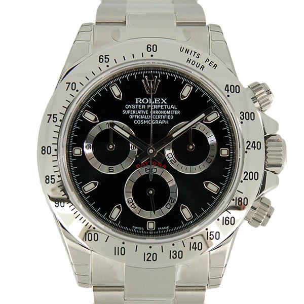 ロレックス ROLEX デイトナ 116520 ブラック ランダム番 未使用品