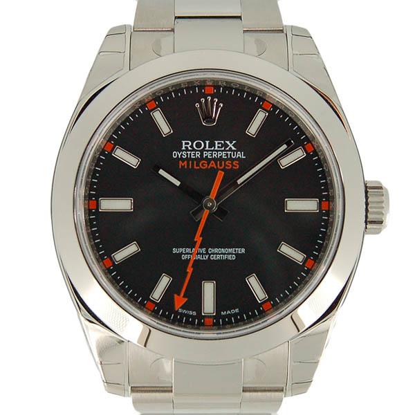 ロレックス ROLEX ミルガウス 116400 ブラック ランダム番 生産終了 未使用品