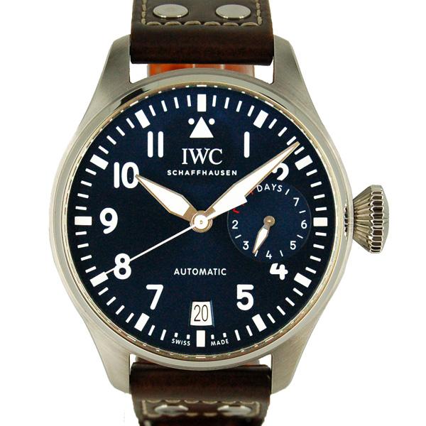 IWC ビッグパイロットウォッチ プティ・プランス IW500916 46mm ブルー 革ベルト USED 中古