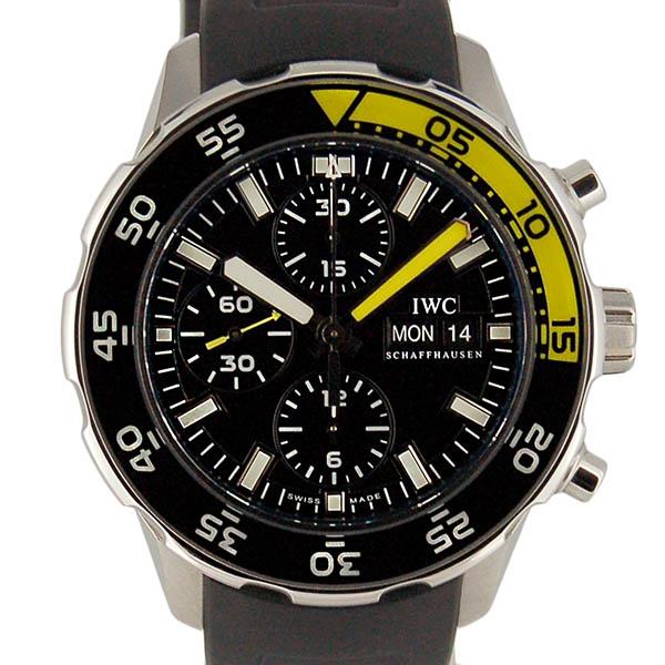IWC アクアタイマー クロノグラフ  IW376709 ブラック 生産終了 未使用品