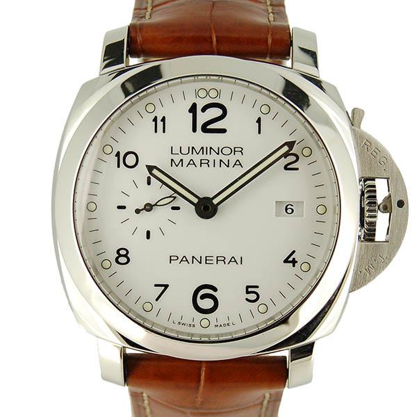 パネライ PANERAI ルミノール1950 3デイズ アッチャイオ PAM00499 44mm ホワイト USED 中古