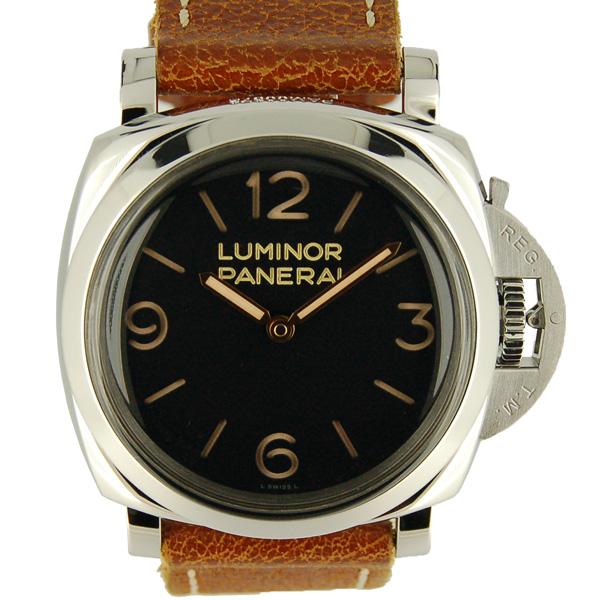 パネライ PANERAI ルミノール1950 3デイズ 47mm PAM00372 SS 手巻き USED 中古