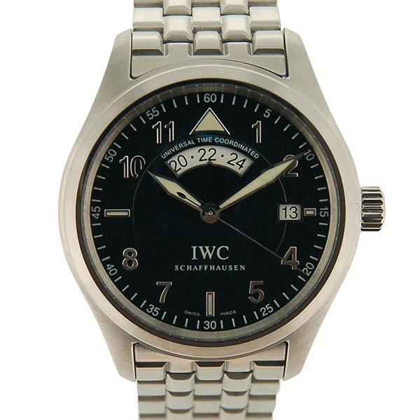 IWC パイロットウォッチ スピットファイアUTC IW325106 ブラック 未使用品