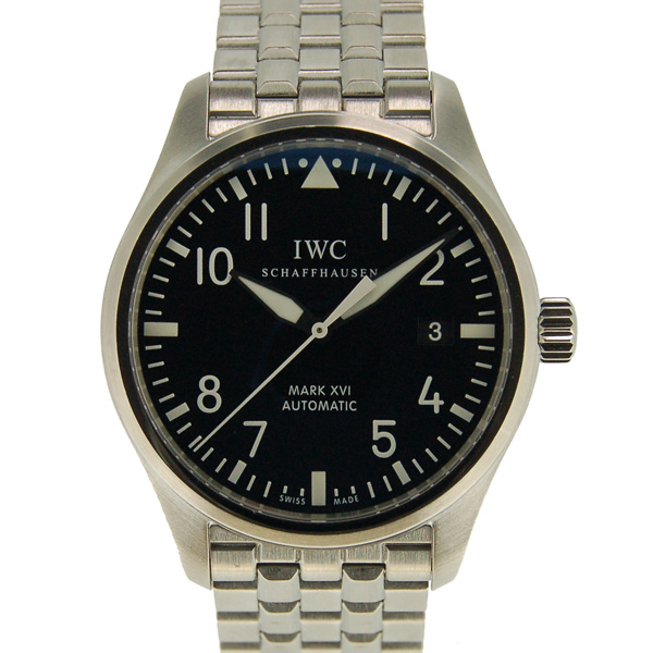 IWC マーク16 IW325504 SS ブラック 自動巻 USED 中古