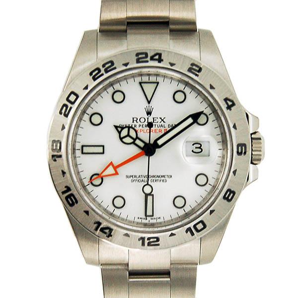 ロレックス ROLEX エクスプローラー2 ホワイト Ref.216570 GMT ランダム番 未使用品