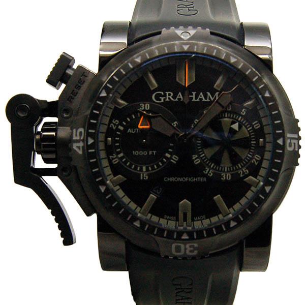 グラハム GRAHAM クロノファイター オーバーサイズ ダイバー 20VEB.B40A USED 中古