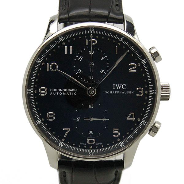 IWC ポルトギーゼ クロノグラフ IW371447 ブラック USED 中古