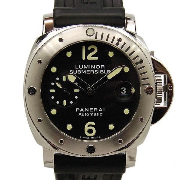 パネライ PANERAI サブマーシブル PAM00024 ブラック 44mm USED 中古