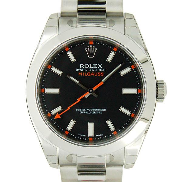 ロレックス ROLEX ミルガウス 116400 ブラック M番ルーレット SS 生産終了 未使用品