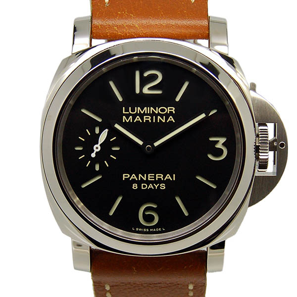 パネライ PANERAI ルミノールマリーナ 8デイズ PAM00510 SS 44mm 手巻き ブラック USED 中古