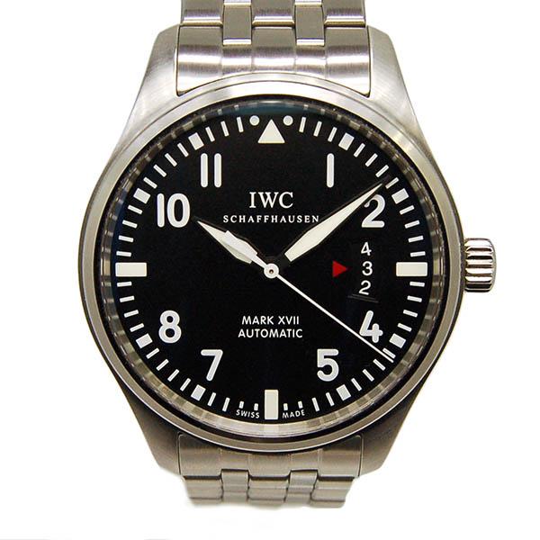 IWC マーク17 IW326504 SS ブラック 自動巻 41mm USED 中古