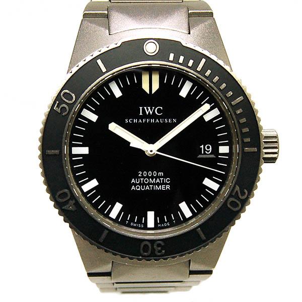 IWC GSTアクアタイマー IW353601 チタン 42mm ブラック USED 中古