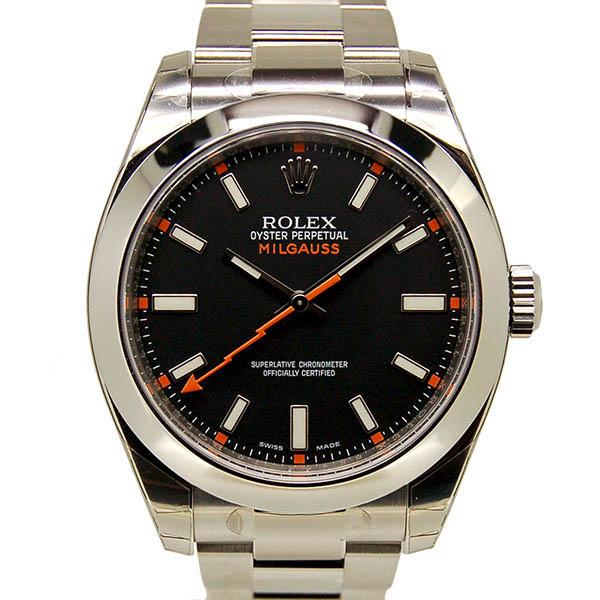 ロレックス ROLEX ミルガウス 116400 ブラック ランダム番 SS 生産終了 未使用品