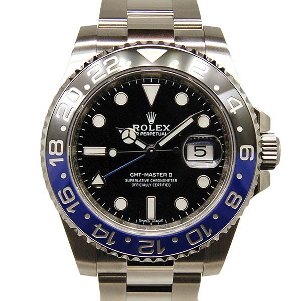 ロレックス ROLEX GMTマスター2 116710BLNR 40mm 青黒ベゼル 国内正規 未使用品