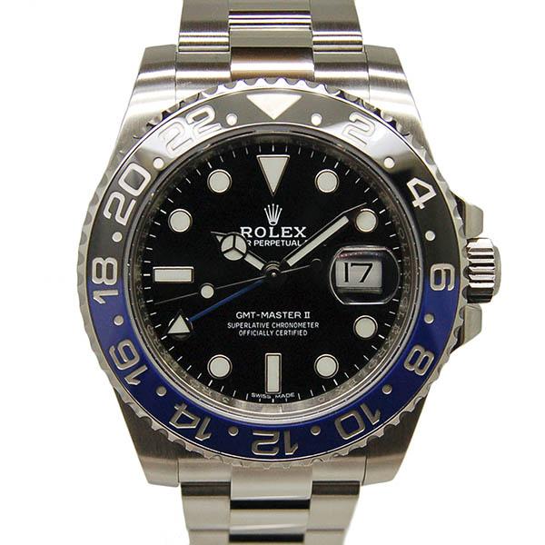 ロレックス ROLEX GMTマスター2 116710BLNR 40mm 青黒ベゼル 国内正規 USED 中古