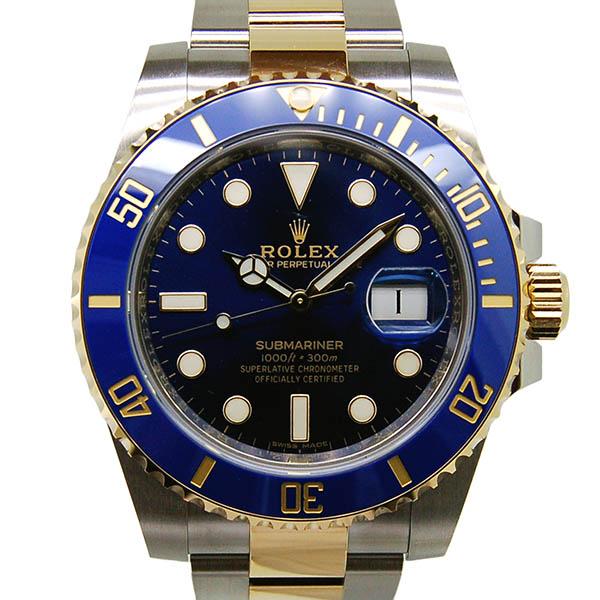 ロレックス ROLEX サブマリーナ コンビ Ref.116613LB ブルー SS×YG ランダム番 国内正規 未使用品