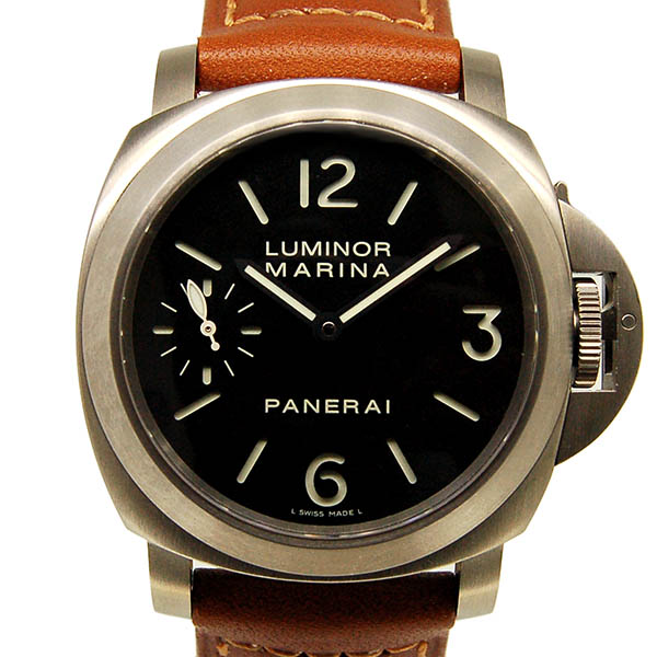 パネライ PANERAI ルミノールマリーナ PAM00177 44mm 手巻き チタン USED 中古