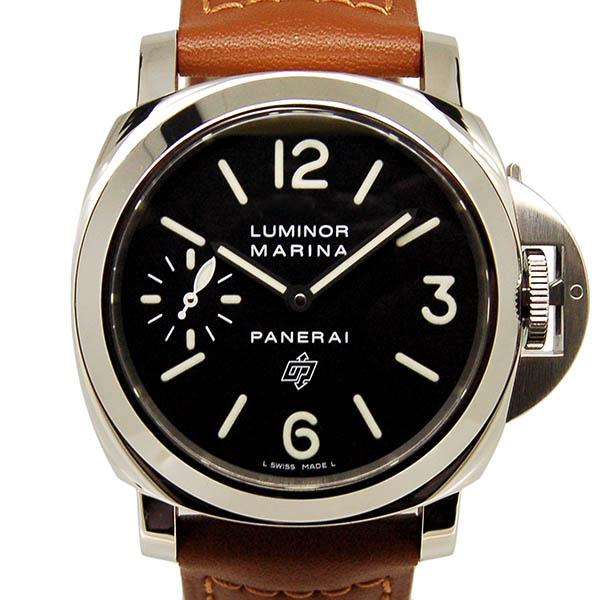 パネライ PANERAI ルミノールマリーナLOGO 44mm PAM00005 手巻き R番 USED 中古