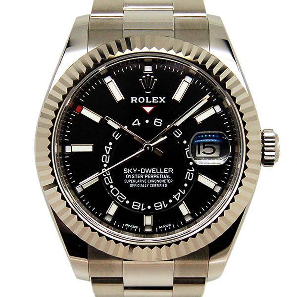 ロレックス ROLEX スカイドゥエラー 326934 ホワイトゴールドベゼル 42mm 国内正規品 未使用品