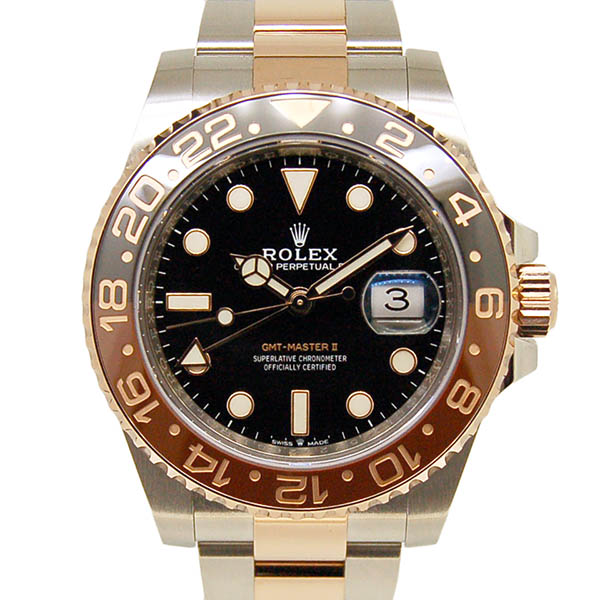 ロレックス ROLEX GMTマスター2 126711CHNR ブラウン/ブラックベゼル 40mm 国内正規 未使用品