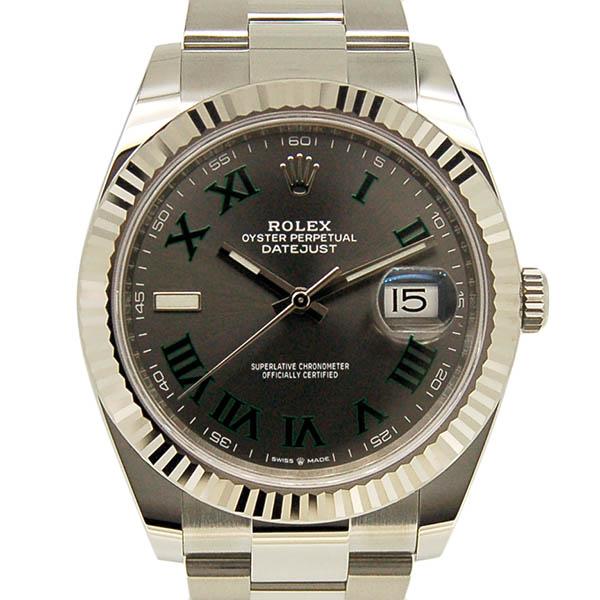 ロレックス ROLEX デイトジャスト41 126334 スレートローマ 国内正規 未使用品