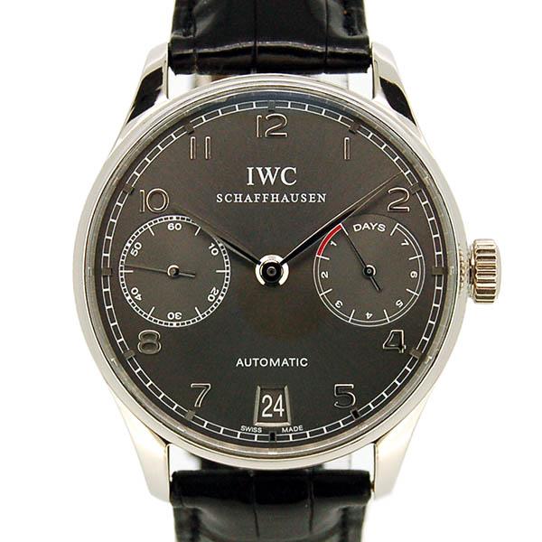 IWC ポルトギーゼ 7デイズ IW500106 18KWG グレー 42.3mm USED 中古