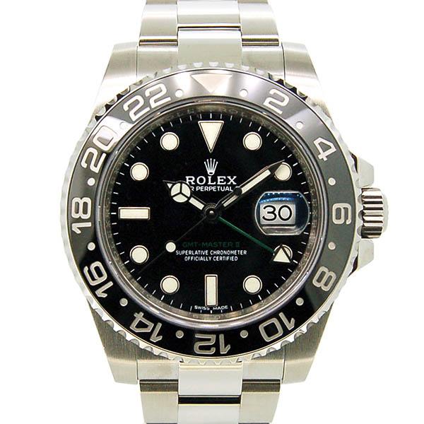 ロレックス ROLEX GMTマスター2 Ref.116710LN SS ブラック 国内正規 未使用品