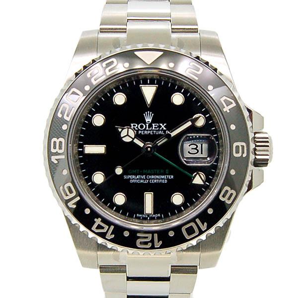 ロレックス ROLEX GMTマスター2 Ref.116710LN SS ブラック 未使用品