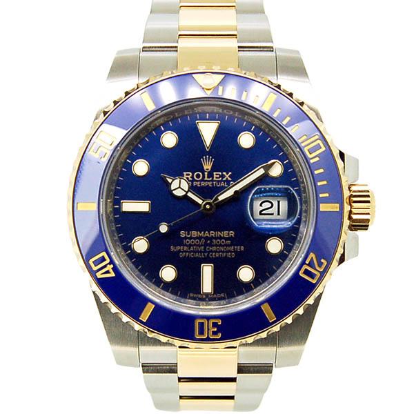 ロレックス ROLEX サブマリーナ コンビ Ref.116613LB ブルー SS×YG ランダム番 国内正規品 未使用品