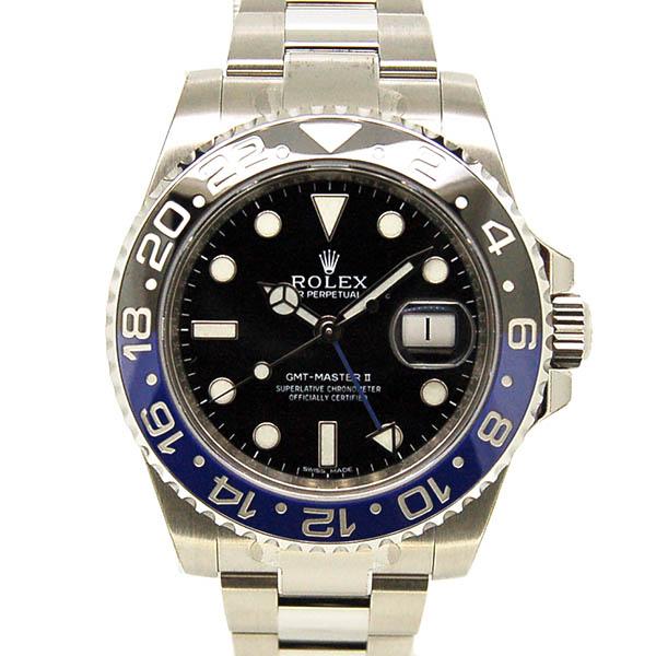 ロレックス ROLEX GMTマスター2 116710BLNR ブルー/ブラック 未使用品