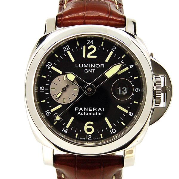 パネライ PANERAI ルミノールGMT 44mm PAM00088 ブラック R番 USED 中古