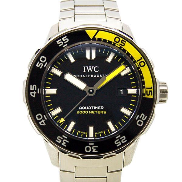 IWC アクアタイマー IW356808 SS 自動巻 2000m防水 44mm USED 中古