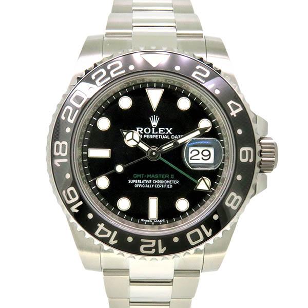 ロレックス ROLEX GMTマスター2 Ref.116710LN SS ブラック USED 中古