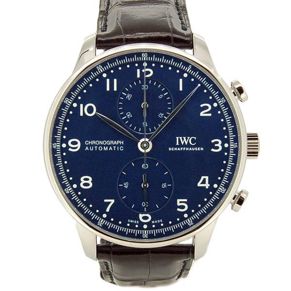 IWC ポルトギーゼ クロノグラフ 150イヤーズ IW371601 世界2000本限定 ブルー 41mm 未使用品