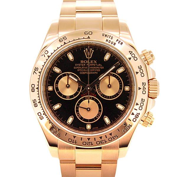 ロレックス ROLEX デイトナ Ref.116505 エバーローズゴールド ブラック/ピンク ランダム番 USED 中古