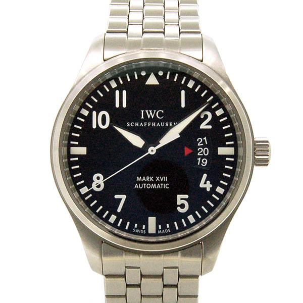 IWC パイロットウォッチ マーク17 IW326504 ブラック 41mm USED 中古