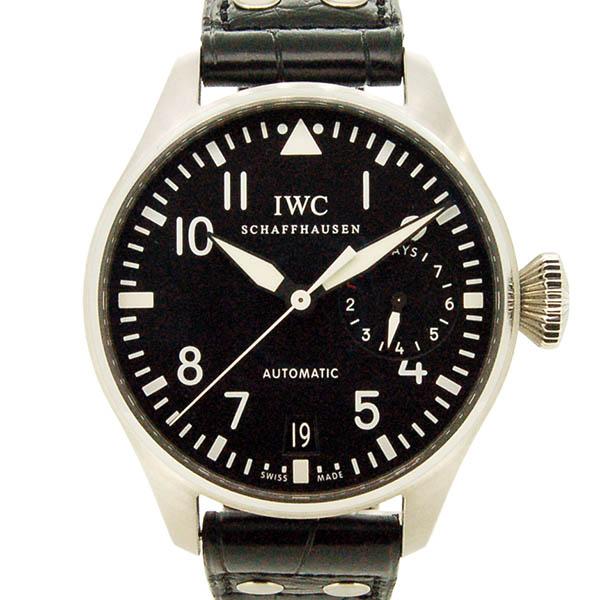 IWC ビッグパイロットウォッチ 7デイズ IW500901 SS ブラック 自動巻 46mm USED 中古