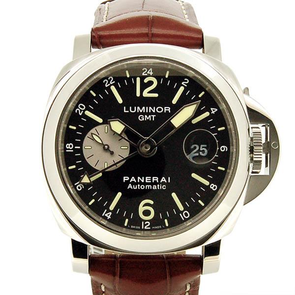 パネライ PANERAI ルミノールGMT 44mm PAM00088 ブラック S番 USED 中古
