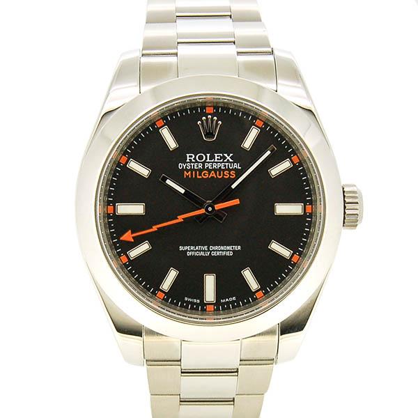 ロレックス ROLEX ミルガウス 116400 ブラック V番 生産終了 USED 中古