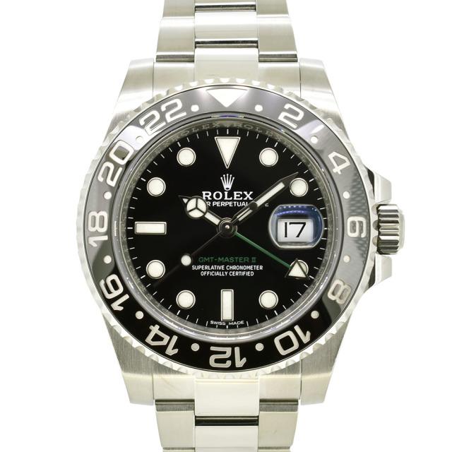 ロレックス ROLEX GMTマスター2 Ref.116710LN SS ブラック ランダム番 USED 中古