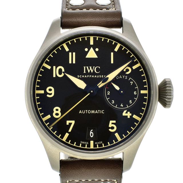 IWC ビッグパイロットウォッチ ヘリテージ 7デイズ IW501004 チタン ブラック 自動巻 46.2mm USED 中古